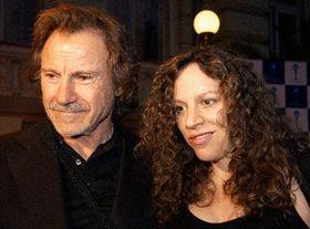 Харвей Кейтел с супругой (Фото: ЧТК)