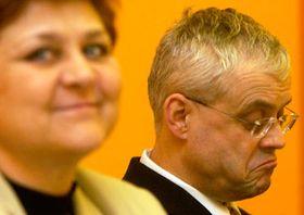 Marie Souckova and Vladimir Spidla, photo: CTK