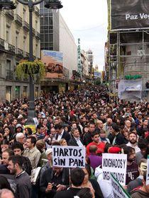 Protestas en España, foto: Barcex, Wikimedia Creative Commons 3.0