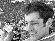 Ladislav Rygl v roce 1970 při MS v klasickém lyžování na Štrbském Plese, foto: ČTK