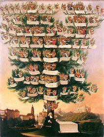 Schwarzenberg family tree, photo: Public Domain