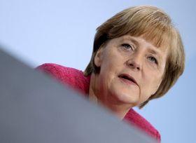 Německá kancléřka Angela Merkelová, foto: ČTK