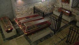 Las catacumbas de Klatovy, foto: ČT24