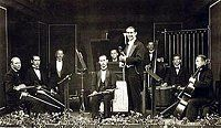 Dol Dauber's band, photo: archive of Radioservis