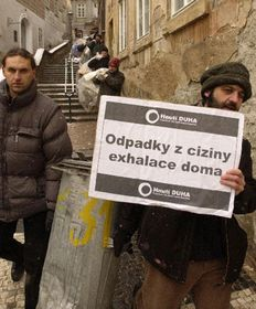 Friends of the Earth's protesting, photo: CTK