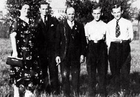 Václav Sedláček (2. von rechts). Foto: Archiv von Josef Leikert