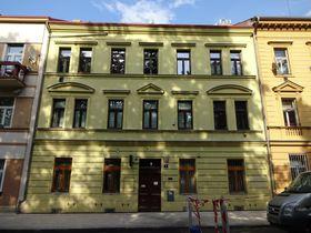 L'immeuble à Smíchov où Toyen a vécu avec ses parents et sa soeur, photo: Archives de Milena Štráfeldová