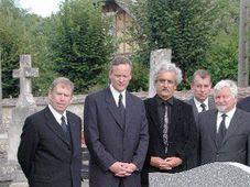 Funeral of Pavel Tigrid, photo: CTK
