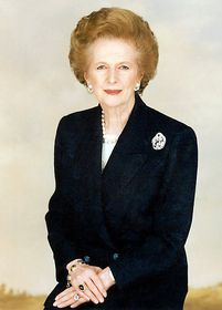 Margaret Thatcher, foto: Wikipedia CC BY-SA 3.0