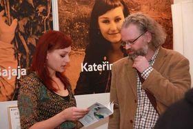 Kateřina Tučková with Andrew Oakland, photo: Archive of Kateřina Tučková