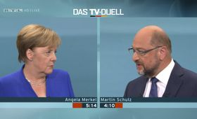 Angela Merkel et Martin Schulz, photo: ČTK