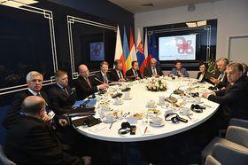 Le groupe de Visegrad, photo: Site officiel du Gouvernemet tchèque