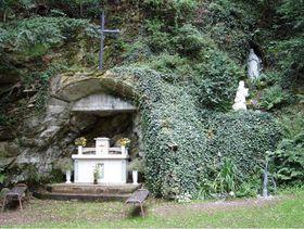 Lurdská jeskyně, foto: oficiální stránky Poutní místo Hluboké Mašůvky