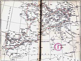 Mapa del viaje 'desde Bohemia hasta el fin del mundo'