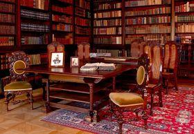 Knihovna, foto: oficiální stránky zámku Dobříš