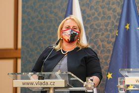 Klára Dostálová, photo: archive of the Office of the Czech Government
