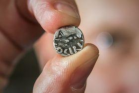 Keltská mince zČeskolipska, foto: ČTK