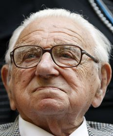 Sir Nicholas Winton, photo: ČTK