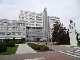 Škoda Auto headquarters in Mladá Boleslav, photo: Cherubino, Wikimedia Commons, CC BY-SA 4.0