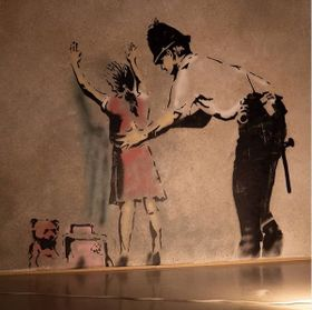 Photo: The World of Banksy