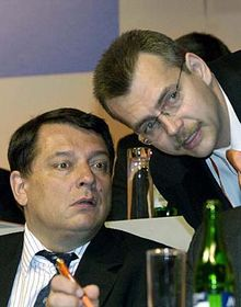 Jiri Paroubek y Jaroslav Tvrdik (Foto: CTK)