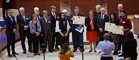 La cérémonie de remise du prix Václav Havel, photo: Site officiel de l'Assemblée parlementaire du Conseil de l'Europe