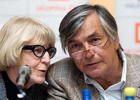 Eva Zaoralova and Jiri Bartoska, photo: CTK