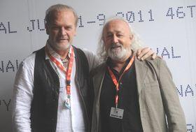 Lluís Homar y Montxo Armendáriz, foto: ČTK