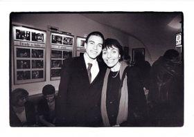 Jasroslava Šiktancová se synem Davidem vdivadle, rok 2000, foto: archiv J:Šiktancové, Ženy vdisentu