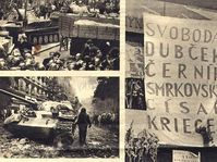 Soviet invasion of Czechoslovakia in 1968, photo: Czech Television