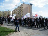 Neo-Nazi march in Krupka