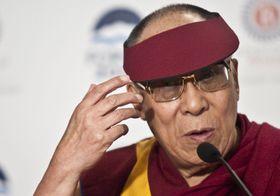 Dalái Lama, foto: Filip Jandourek, Archivo de ČRo