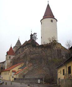 El castillo de Krivoklat