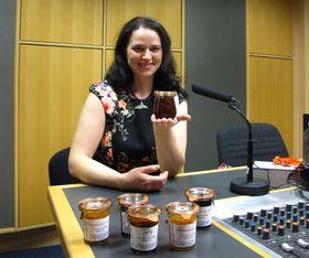 Jozefína Růžičková se svými marmeládami, foto: Štěpánka Budková