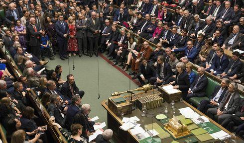 Das britische Unterhaus hat den Brexit-Deal abgelehnt (Foto: ČTK / AP / Mark Duffy)