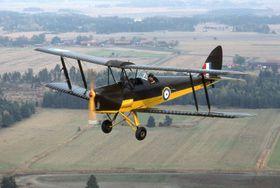 Tiger Moth, иллюстративное фото: Towpilot, CC BY-SA 3.0
