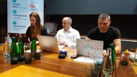 Daniel Soukup (uprostřed) aTomáš Šebek, foto: Martina Bílá