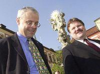 Vladimír Špidla a Zdeněk Škromach, foto: ČTK