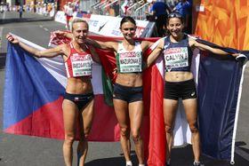 Eva Vrabcová Nývltová (links) Foto: ČTK/imago sportfotodienst/BEAUTIFUL SPORTS/Axel Kohring