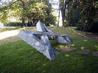 Holocaust-Mahnmal, Usti nad Labem (Foto: Autorin)