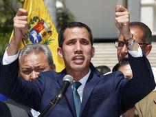 Juan Guaidó, foto: ČTK / AP Photo / Fernando Llano
