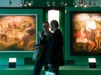 The exhibition in Freistadt, photo: CTK