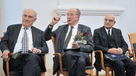 Карел Яновицки, Микулаш Лобковиц и Олег Малевич (Фото: ЧТК)
