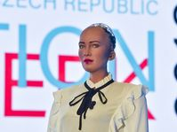 Le robot Sophia, photo: ČTK