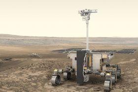 Le rover Rosalind Franklin, source: ESA/ATG medialab