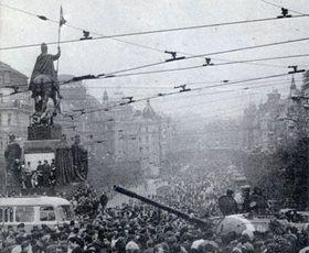 Agosto de 1968 en Praga