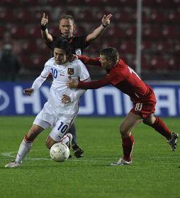 Selección checa - Polonia, foto: ČTK