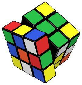 Rubik's Cube, photo: Booyabazooka / CC BY-SA 3.0