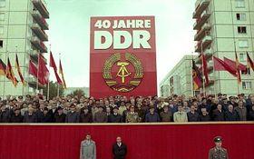 7 de octubre de 1989, día del 40 aniversario del surgimiento de la RDA