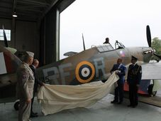 Hawker Hurricane RF-R, R4175, photo: archive of FCAFA